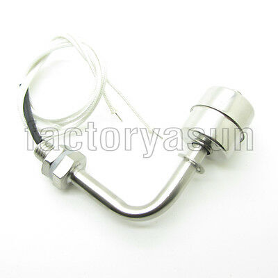 Right Angle Stainless Steel Float Switch Tank Liquid Water Level Sensor 0-250V