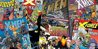 Super Hero Marvel Comic X-Men X Men Edible A4 ICING Sheet Cake Topper