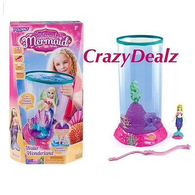 NEW My Magical Mermaid Playset Robo Fish Tank Girls Toy Christmas Gifts Kids