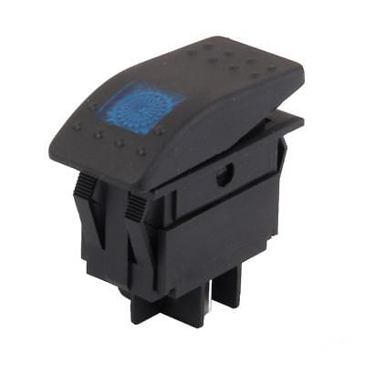 DC 12V Interruttore A Bilanciere ON / OFF LIGHT SWITCH LED BLU PER AUTO