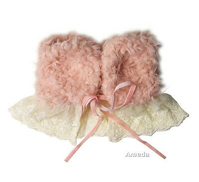 Baby Girls Light Pink Lace Scarf