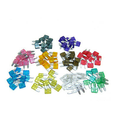 New 30 X Mixed Amp Mini Blade Fuses Car Motorbike Atm Auto Quality Tools BTSZUK