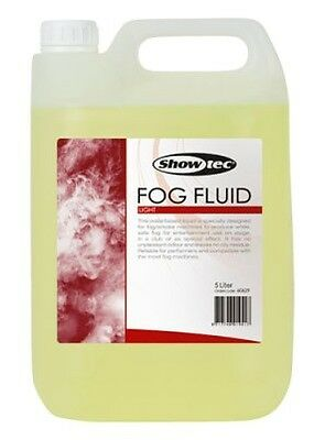Showtec Fog Fluid Light - Liquido Per Macchina Fumo (5 Lt)