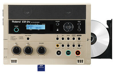 ROLAND CD 2u - REGISTRATORE CD/SD CD2u