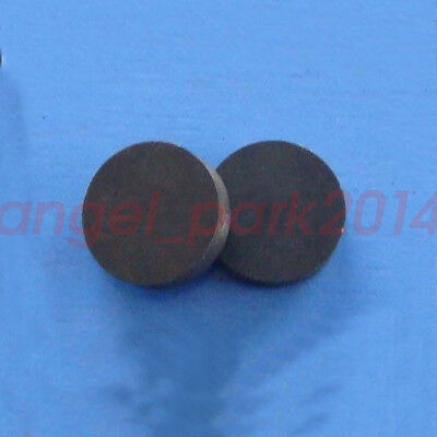 20pcs D12X4 Strong round Disc Magnet ferrite Y30BH  Magnets Black