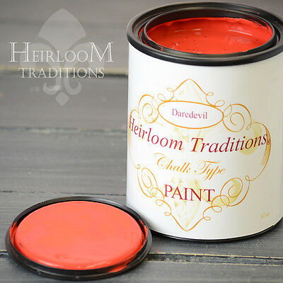 Chalk Type Paint Heirloom Traditions Paint Daredevil Red Furniture Paint DIY