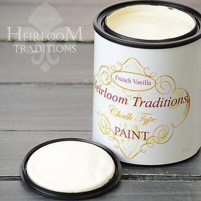 Chalk Type Paint Heirloom Traditions Paint French Vanilla Furniture Paint DIY