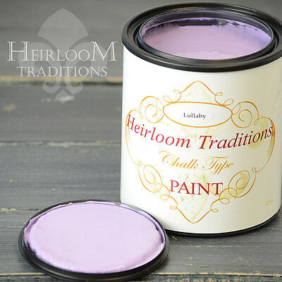 Chalk Type Paint Heirloom Traditions Paint Lullaby Purple Furniture Paint DIY