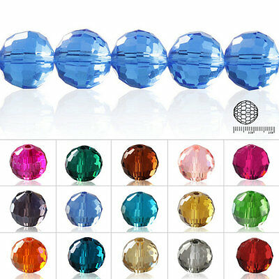 50Pcs 12mm Crystal Disco Ball Loose Beads Fit Pendant DIY Jewelry Making
