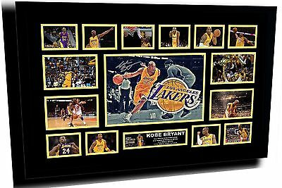 New Kobe Bryant La Lakers Signed Limited Edition Framed Memorabilia