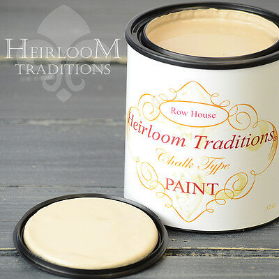 Chalk Type Paint Heirloom Traditions Paint Row House Brown Furniture Paint DIY