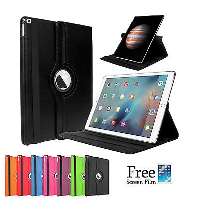 360 Rotating Pu Leather Smart Cover Case for Apple iPad Pro 12.9""