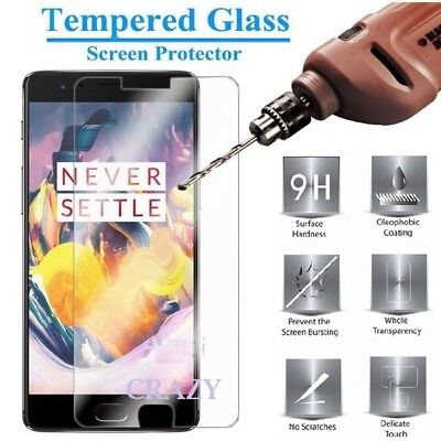 Tempered Glass LCD Screen Protector Guard For OnePlus Three 3 3T | Five 5 5T