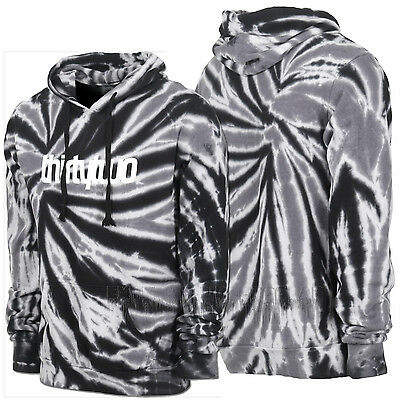 THIRTYTWO thirty-two 2016 Men's Snowboard Black Tie Dye INYO PULLOVER HOODIE