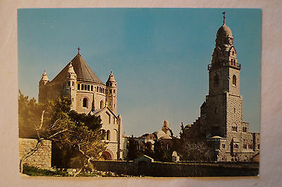 Jerusalem - Sanctuary of the Dormition of The Virgin - Vintage - Postcard.