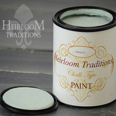 Chalk Type Paint Heirloom Traditions Paint Whimsy Green Furniture Paint DIY