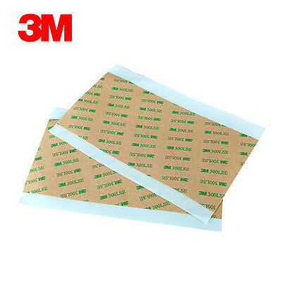 3M 300LSE 9495LE Sheets Clear Double Sided Adhesive Tape Super Sticky 10x20cm