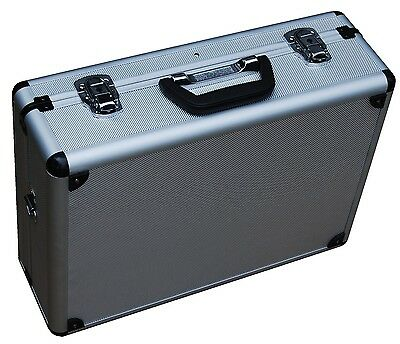 Vestil Aluminum Tool Storage Case 18 Length 14 Width 6 Height With Two Keys New