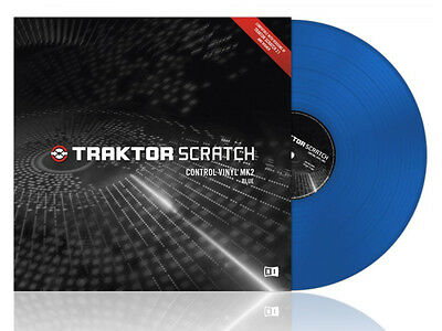 Native Instruments Traktor Scratch - Control Vinyl Blue Mkii