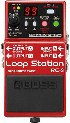BOSS RC3 Pedale loop station USB 2.0
