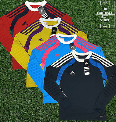 Adidas Goalkeeper Shirt - Official Boys Football Shirt Padded Elbows - All Sizes