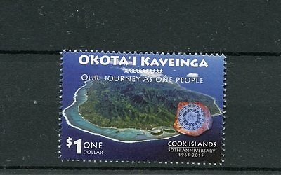 Cook Islands 2015 MNH Self-Government 50th Anniv 1v Set