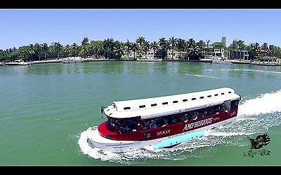 Established Independent Duck Tour Business - Amphibious Boat and City Tour Miami