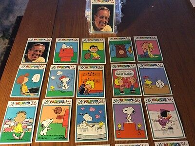 Peanuts 33 Card Set  Snoopy Charlie Brown Schulz FRENCH ADDITION