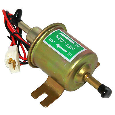 New Electric Fuel Pump HEP-02A Low Pressure 12V For Agricultural ATV Automotive