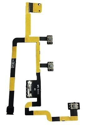2X Power Button Volume Control Flex Cable for iPad 2 2nd A1395 EMC 2560 2012 CDJ