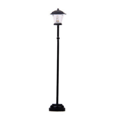 Dolls House Miniature LED Light Street Garden Lamp lamppost Battery Powered
