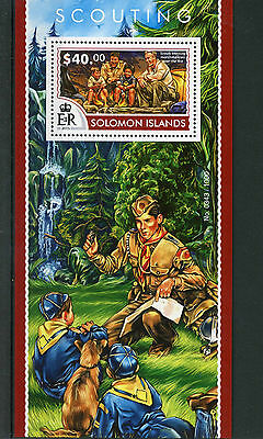 Solomon Islands 2015 MNH Scouting 1v S/S Scouts