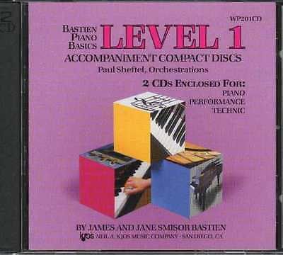 Bastien Piano Basics Level 1 (2Cd)