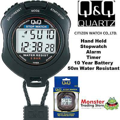 Aussie Seler Citizen Made Pro Hand Held Stop Watch Hs47J001 Rp$119.9 Waranty