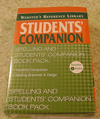 Websters Spelling and Students' Companion Book Pack