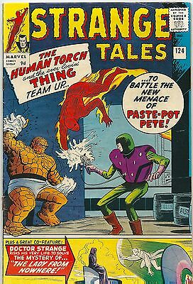 Strange Tales 124 Marvel Silver Age 1964 1st Human Torch Thing Team Up Dikto Art