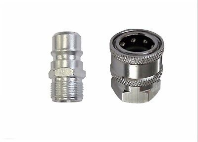 "Pressure Washer Quick Release HP Coupling - 19.5 mm 3/8""F x M22M"