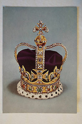 St.Edward's Crown - The Crown of England - Collectable - Postcard.