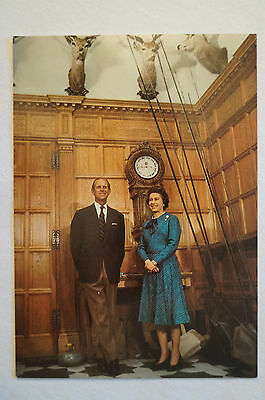 The Queen and The Duke of Edinburgh - Collectable - Postcard.