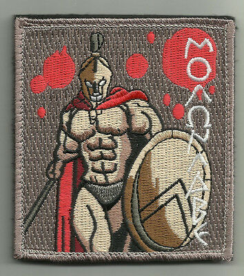 Molon Labe Spartan Combat Tactical Badge Oif Oef Hook Loop Morale Military Patch