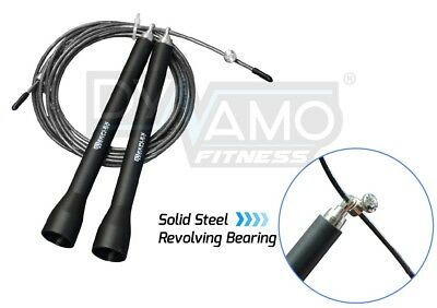 Speed Rope Skipping Adjustable Length Crossfit Boxing MMA Fitness & Gym