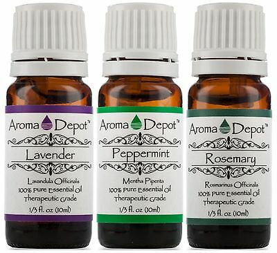 Essential Oils 10ml -100% Pure & Natural Therapeutic Grade Oil ''FREE SHIPPING''