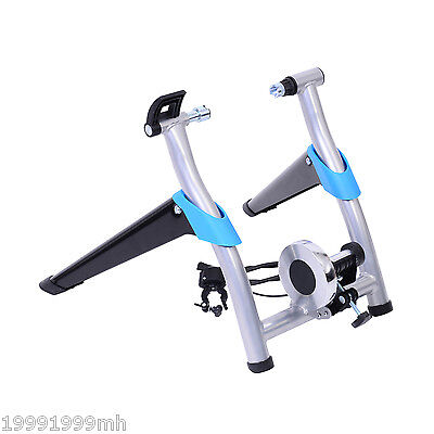 Soozier Folding Magnetic Indoor Bicycle Bike Trainer 8-Speed Exercise Cycling