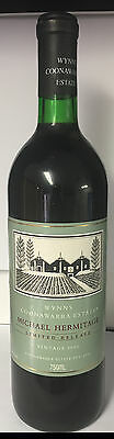Wynns Michael Hermitage 1990 Cellared Limited Release