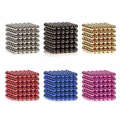 3mm/5mm Magnetic Bucky Balls Magnet Spacer Beads Cube Kids Child Adult DIY Toys