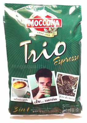 Moccona Trio Instant Coffee Mix Powder 3 In 1 Expresso
