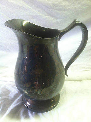 VINTAGE Wallace 9430 silver plated water pitcher store#5  S#E8