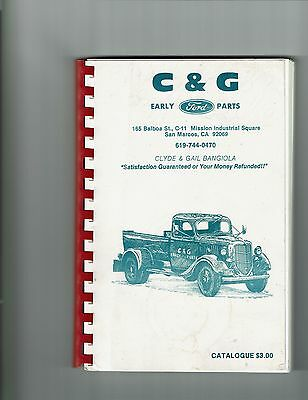 C & G Early Ford Parts Catalog 250 pages