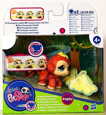 Littlest Pet Shop - Magic Motion Pets - Orangutan #2538