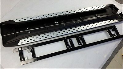 aluminium for Mitsubishi Outlander 2013-2016 running board side step Nerf bar